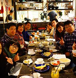 香港島で楽しく食事♪